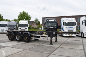 Semitrailer Van Hool 3B2005 CONTAINERCHASSIS - SAF AXLES - DRUM BRAKES - LIFT AXLE - containertransport begagnad
