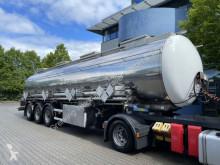 Naczepa Klaeser KLAESER Chemietank TSA 31C, ADR/GGVS, Förderpump cysterna produkty chemiczne używana