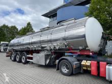 Semi remorque Klaeser KLAESER Chemietank TSA 31C, ADR/GGVS, Förderpump citerne produits chimiques occasion