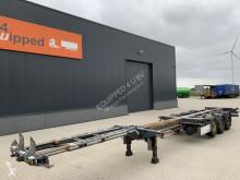 Semitrailer D-TEC FLEXITRAILER, 45FT HC, SAF+schijfremmen, liftas, leeggewicht: 4.834kg, NL-chassis, APK: 06/2021, 2x beschikbaar containertransport begagnad
