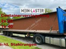 Semi remorque plateau Krone Containerverriegelung NL 30.420 kg hse