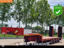 Semitrailer maskinbärare Kässbohrer LB4E Hydr. Rampen Extendable 6.00 m Lift+Lenkachse