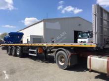 Louault flatbed semi-trailer PLATEAU 3 ESSIEUX