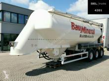Полуприцеп цистерна для сыпучих материалов Feldbinder EUT 40.3 / 40.000 l / Lenkachse