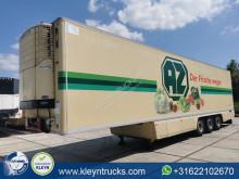 Chereau CSD3 saf alcoa carrier semi-trailer used mono temperature refrigerated