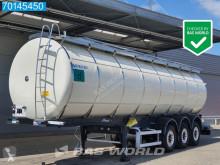 Félpótkocsi Menci STC 33.000 Ltr / 3 Comp / Food használt élelmiszerszállító/büfékocsi tartálykocsi