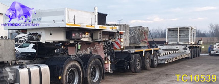 Полуремарке Nicolas Low-bed превоз на строителна техника втора употреба