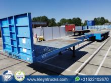 Semitrailer platta Nooteboom O-42-VV 6.5m extendable