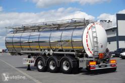 Tanker semi-trailer KASSBOHRER / CYSTERNA CHEMICZNA / L4BH / 30 000 LITRÓW / OŚ PODNOSZONA