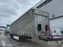 Semitrailer Curtainsider Standard skjutbara ridåer (flexibla skjutbara sidoväggar) begagnad