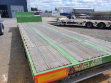 Naczepa Asca 2 essieux plateau bas do transportu sprzętów ciężkich używana