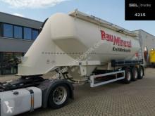 Návěs Feldbinder EUT 40.3 / Alu-Felgen / 40.000 l / Lenkachse cisterna práškový použitý