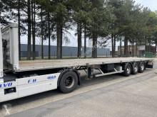 Félpótkocsi Fruehauf ALU trailer - SMB - DISC BRAKES használt plató