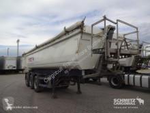 Semi remorque benne Schmitz Cargobull Tipper Steel half pipe body 28m³