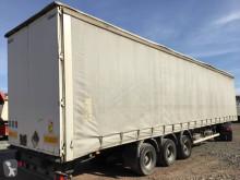 Semitrailer Samro skjutbara ridåer (flexibla skjutbara sidoväggar) begagnad