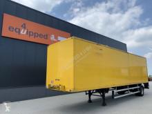 Semi reboque Groenewegen city, steering axle, no rust, NL-trailer, APK: 21/5/2022, twin-tires usado