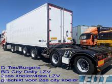Návěs D-TEC CTD-40-04DB - DTec-Burgers BD CIty Dolly LZV koel/vries oplegger chladnička mono teplota použitý