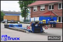 Faymonville heavy equipment transport semi-trailer Megamax-Z-4H, Extandable, Pendel