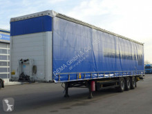 Yarı römork tenteli platform Schmitz Cargobull SCB*Edschaverdeck*Schmitz-Achs