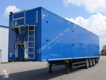 Semi remorque fond mouvant Schmitz Cargobull SW24*Liftachse*TÜV*Rollplane*