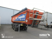 Yarı römork damper Schmitz Cargobull Semitrailer Tipper Steel half pipe body 27m³