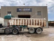 Yarı römork deniz doldurma damperli kamyon Inta Eimar BAÑERA 2 EJES*20M3*