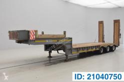 Gheysen et verpoort heavy equipment transport semi-trailer Low bed trailer