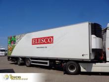 Unitrans mono temperature refrigerated semi-trailer S40246 + + CARRIER MAXIMA 1300 + DHOLLANDIA LIFT