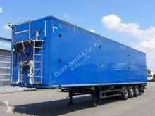 Semirimorchio Schmitz Cargobull SW24*Liftachse*TÜV*Rollplane* fondo mobile usato