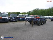Semi reboque Montracon container trailer 20-30-40-45 ft porta contentores usado