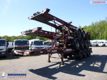 Semi remorque Montracon Stack - 3 x container trailer 20-40-45 ft porte containers occasion