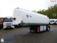 Semi reboque cisterna Fuel tank alu 22 m3 / 4 comp + pump + counter