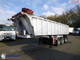 Benalu Tipper trailer alu 22 m3 semi-trailer used tipper