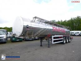 Полуремарке цистерна химични продукти Chemical tank inox 30 m3 / 1 comp