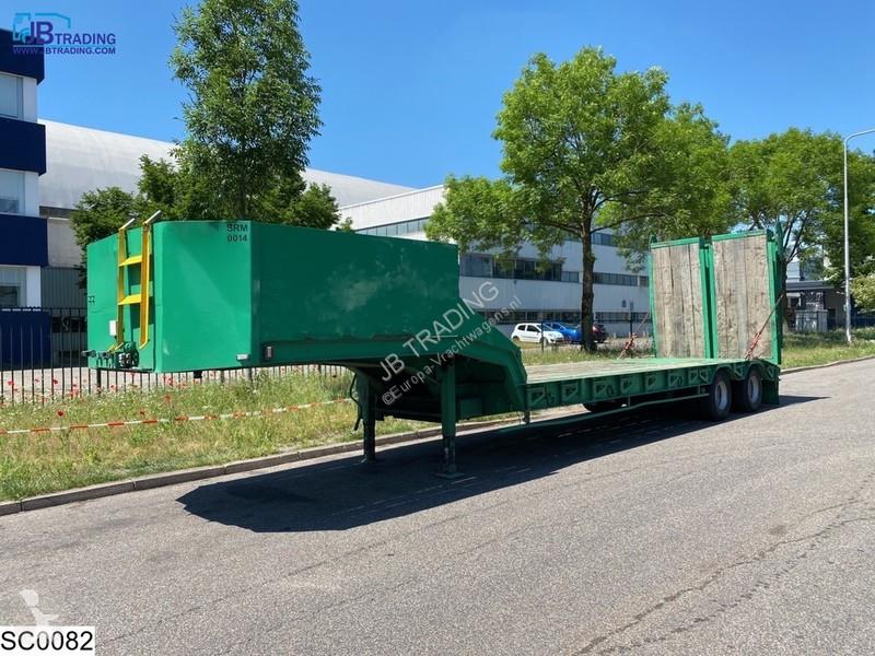 View images Castera Lowbed 46000 KG, Steel suspension, Lowbed semi-trailer