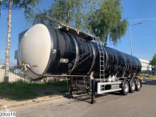 Semi remorque citerne produits chimiques Van Hool Bitum 30500 liter, ADR 10-09-2021
