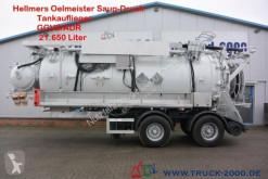 Semi-remorcă cisternă Hellmers Ölmeister Saug-Druck-Spül Kanalreiniger