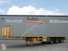 ES-GE flatbed semi-trailer 3H.13 3.VOD-18-30, teleskopierbar 15.400 mm