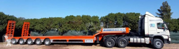 Alim 2019 80T 13mx3m semi-trailer used heavy equipment transport