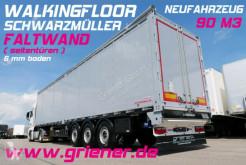 Semi reboque piso móvel Schwarzmüller FALTWAND / SEITENTÜREN / 8300 kg LIFT / 6 mm