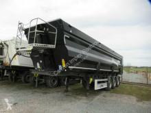 Fliegl tipper semi-trailer 50 cbm Stahlmulde, Kornschieber, Lift