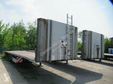Návěs plošina Fliegl Plateau mit Containerverriegelung, 5 Querbalken
