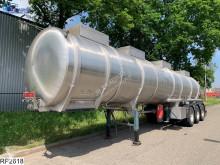 Panissars Chemie RVS tank, 31.720 liter, 4 compartments semi-trailer used tanker