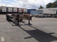 Semi remorque Trouillet CHARIOT COULISSANT 3 ESSIEUX 38T porte containers occasion