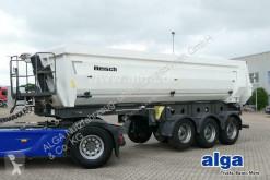Semitrailer Reisch RHKS 35/24 SSL, Stahl, 28m³, anliegende Klappe flak begagnad