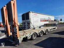 Semi reboque porta máquinas Faymonville 3 essieux table élévatrice extensible