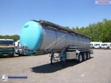 Burg élelmiszerszállító/büfékocsi tartálykocsi félpótkocsi Food tank inox 26.8 m3 / 1 comp + pump