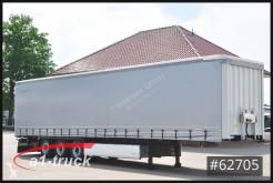 Semi reboque Krone SD Tautliner, Lift, Palettenkasten caixa aberta com lona usado
