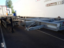 Trouillet container semi-trailer CHARIOT COULISSANT HIGH CUBE 3 ESSIEUX 38T