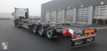 Полуремарке Trouillet CHARIOT COULISSANT HIGH CUBE 3 ESSIEUX 38T ADR контейнеровоз втора употреба